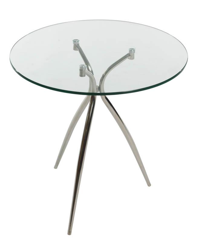 Glazen Bijzet Tafeltje.Basic Sit Bijzettafel Glas