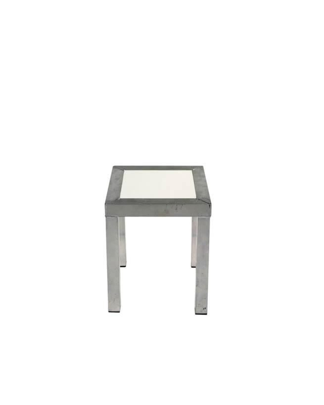 Moderne Witte Statafel.Moderne Bijzettafel Design Wit
