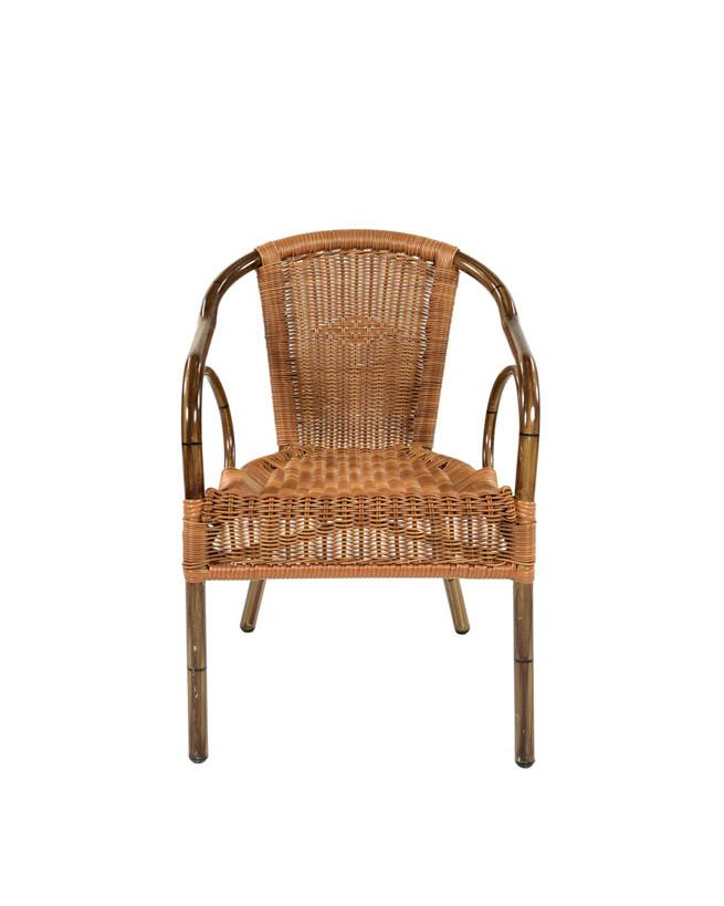 praktische rotan stoel