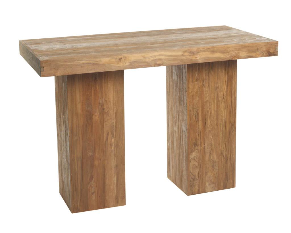 Populair Rustieke statafel (H)eerlijk hout (80x160 cm) NO49