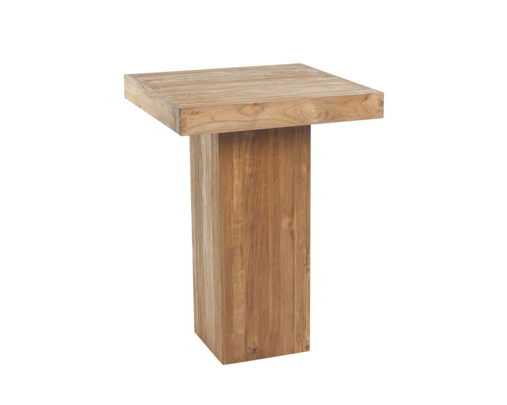 Super Rustieke statafel (H)eerlijk hout (80x80 cm) IC51