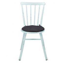 Kussentje zwart Ø (stoel Granny)