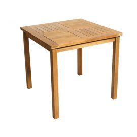 Teak terrastafel (80x80 cm)