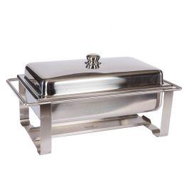 Chafing dish 1/1 GN RVS (excl. inzetbak en brandpasta)