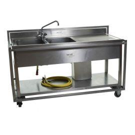 Spoeltafel (incl. boiler