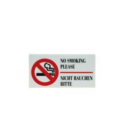 Verboden te roken bordje