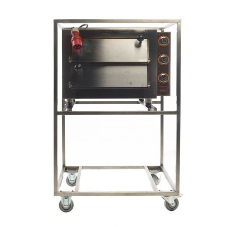 Pizza-oven, 2-laags