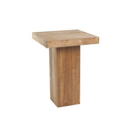 Statafel (H)eerlijk hout (80x80 cm)
